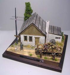 Toldi im Osten - Model Tanks, Ww2 Aircraft, Nightmare On Elm Street, Panzer, Vignettes, Instagram, Cabin, House Styles, Building