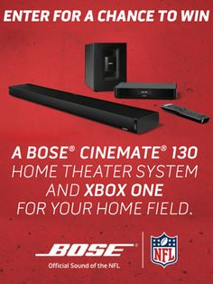 Win A Bose Home Theatre System