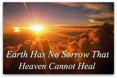 Sorrow healed