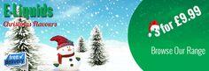 Merry Christmas from WeeVape - 3 x e-liquids for £9.99