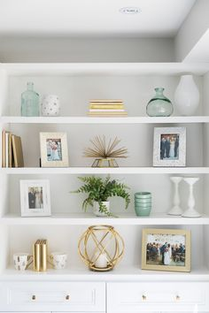 35 Essential Shelf Decor Ideas (A Guide to Style Your Home) bedroom livingroom kitchen ikea builtin wall modern teen diy floating 778208010589218955 Amazon Home Decor, Easy Home Decor, Cheap Home Decor, Classic Home Decor, Natural Home Decor, White Home Decor, Before After Kitchen, Living Room Decor Before And After, Tv Stand Ideas For Living Room