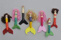 Peg Mermaid Dolls | Be A Fun Mum