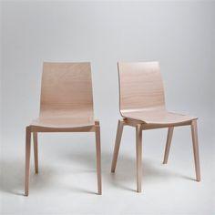 Chaise (lot de 2) Soumam, hêtre massif AM.PM