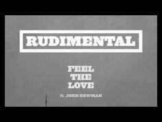 """Rudimental - """"Feel The Love"""" ft. John Newman ♥ Favorite song"""
