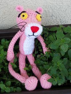 Crochet Pink Panter