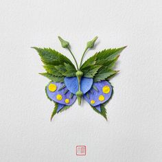 New Flower Arrangements Formed Into Exotic Butterflies and Moths by Raku Inoue | Colossal