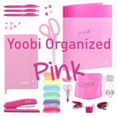 Yoobi Organized - Pink Bundle