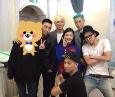 Actress Kim Yoo Jung attends Big Bang's concert #allkpop #bigbang