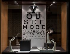 Black & White Paper/Foamcore Windows 2014, Visual Merchandising Arts. School of Fashion at Seneca College.