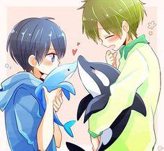 moe moe~ Makoto & Haru <3 <3 <3 <3