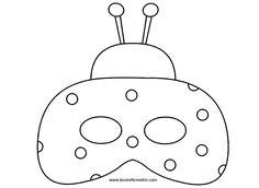 Boy Headbands, Headband Crafts, Carnival Crafts, Carnival Masks, Mask Drawing, Felt Mask, Mini Bus, Ladybug Party, Mask Template