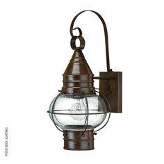 Cape Cod Medium by US manufacturer Hinkley Lighting #brasswalllight