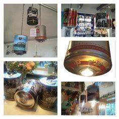 De #originele #Italiaanse #Koffie #Lampen -#Lampada #Barattolo #Caffe. Recyclen van Italiaanse Koffieblikken, voor de echte #koffieliefhebbers! Verschillende uitvoeringen, koffiemerken en erg functioneel. Ook leverbaar in een maatwerk combinatie samenstelling. Koffieblikken zijn op voorraad, levertijd ongeveer 2 weken. BESTEL SNEL (at Italian Entertainment And More - Italian Coffee Handbags)