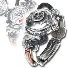 EER Steam-Powered Entropy Calibrator - Gadgets - Steampunk...pretty cool watch, don't you think?