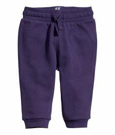Purple sweats - hm.com