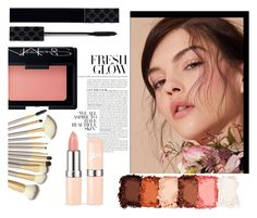 """Beauty-Hot!"" by elegal32 ❤ liked on Polyvore featuring beauty, NYX, NARS Cosmetics, Gucci, contest, Beauty and beautyproducts"