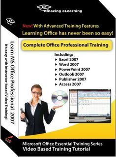 Microsoft Office 2007 Excel, Word, PowerPoint, Outlook, Publisher, Access & Accounting - 7 Training Courses Amazing Elearning http://www.amazon.com/dp/B001F5U8PQ/ref=cm_sw_r_pi_dp_MLwVwb1YCAK5W