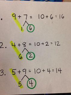 Five For Friday: Number Bonds & Bar Models Math For Kids, Fun Math, Math Activities, Math Classroom, Kindergarten Math, Teaching Math, Math Addition, Addition And Subtraction, Algebra