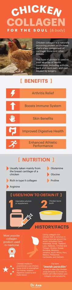 Chicken collagen for the soul (and body) - Dr. Axe  http://www.draxe.com #health #holistic #natural