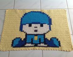 Tapete Croche  Personagem Pocoyo