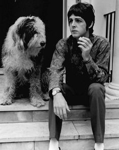 Paul McCartney and Martha