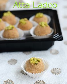 Atta ladoo recipe is easy to prepare and healthy for kids too. Perfect to gift pack for Navratri or Diwali!