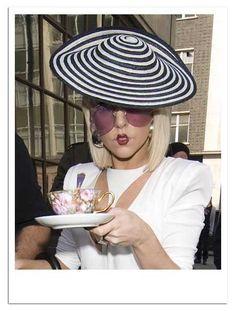 Gaga for tea...