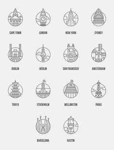 Free City Icons | #design #icons