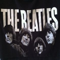 Beatles cropped top gently used. Black. The Beatles. Semi sheer in light (shown in pic) not brandy, just tagged for visibility :) ‼️ SMALL HOLE NEAR SHOULDER ‼️ Brandy Melville Tops