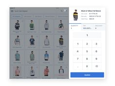 iPad POS Application UI/UX Design on Behance Pos Design, App Ui Design, User Interface Design, Used Cameras, Ui Patterns, Adobe Xd, Landing Page Design, Jobs Apps, Pattern Library