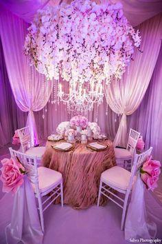 Design House Decor Indian Bridal Inspiration Shoot by Salwa Photography Wedding Reception Themes, Indian Wedding Decorations, Wedding Centerpieces, House Decorations, Jeff Leatham, Dream Wedding, Wedding Day, Wedding Flowers, Indian Wedding Photographer