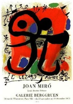 Le Lezard aux plumes d'or (The Lizard with Feathers of Gold) by Miro Joan