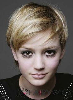 100% Human Hair Blonde Short Wigs 8 Inch Full Lace Straight Short Wigs, Short Pixie, Boyish, 100 Human Hair, Blonde Hair, Hair Beauty, Lace, Style, Writers