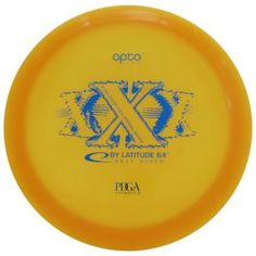 """The Latitude 64 XXX - Opto is a very overstable distance driver. The XXX is sincerely a disc golf disc for the """"big guns"""" and not for children. It's not only overstable, it is a headwind driver, a hurricane season driver. You will love the XXX when you need to bomb over something. It's a golf disc you can rely on in any condition!"""