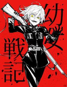 埋め込み Manga Anime, Fanarts Anime, Anime Demon, Manga Girl, Anime Art, Kaneki, Female Characters, Anime Characters, Tanya Degurechaff