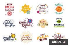 Raksha Bandhan emblems   Pre-Designed Illustrator Graphics ~ Creative Market Raksha Bandhan Messages, Raksha Bandhan Photos, Raksha Bandhan Cards, Happy Raksha Bandhan Images, Raksha Bandhan Gifts, Happy Raksha Bandhan Wishes, Raksha Bandhan Greetings, Rakhi Photo, Happy Rakhi