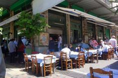 Greek, Restaurant, Traditional, Outdoor Decor, Diner Restaurant, Restaurants, Greece, Dining