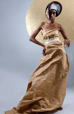 Paper Dolls by Manuel Minino - Fashion Photography - Recycled dresses - Rubbish - Paper