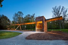 Now THAT is a cool treehouse!_A Treehouse Made From The Trunk Of A 100-Foot Tree | Co.Design: business + innovation + design