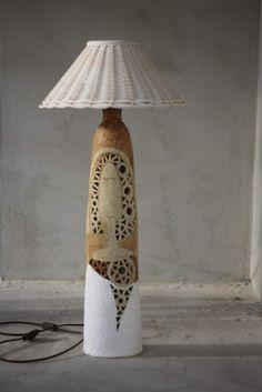 klikni pro další 93/114 Ceramic Lamps, Ceramic Light, Ceramic Art, Pottery Sculpture, Pottery Vase, Ceramic Pottery, Big Vases, Handmade Lamps, Pottery Designs