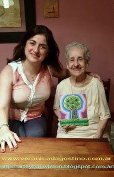 ARTE y BAJA VISIÓN: ¡¡¡Feliz cumpleaños número 90 Norita !!!