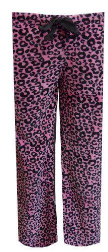 Pink Leopard Plush Lounge Pant for women (Medium) Totally Pink http://www.amazon.com/dp/B00E41GJ0G/ref=cm_sw_r_pi_dp_fJUNub0S6NFSW