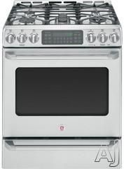 GE Cafe gas range w/5 burners.  Baking drawer.  $2175 from AJ Madison.