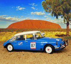 rally in the outback...