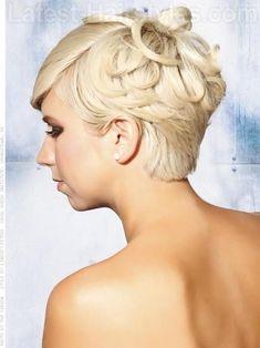 42 Beautiful Wedding Hairstyles For Short Hair