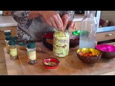 Les légumes lacto fermentés, avec eau de mer en tant que liquide de remplissage c'est le top !petites impulsions pour favoriser la santé - YouTube