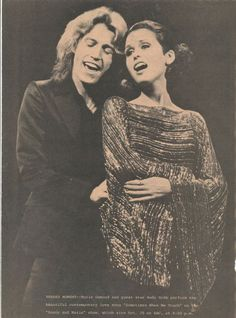 Andy Gibb and Marie Osmond