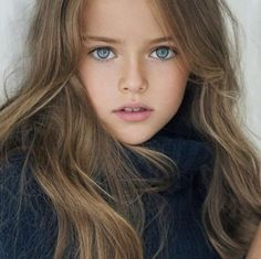 """Kristina Pimenova has become an international starafter being dubbed """"the most beautiful girl in the world"""" by Women's Wear Daily."""