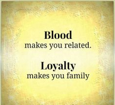 Would change loyalty to love