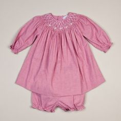 Checker smocked dress and panty baby s first christmas events